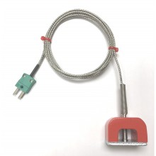 IEC Strong Magnet Thermocouple (9kg Pull) with Miniature Thermocouple Type K Plug