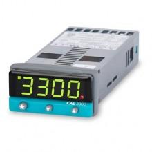 CAL Single Loop Temperaturregler 3300-2 X Relais O/Ps, 100-240VAC
