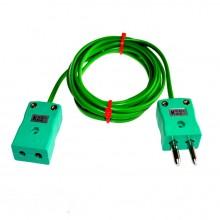 Typ K PVC Verlängerungskabel mit Stecker und Buchse (IEC)