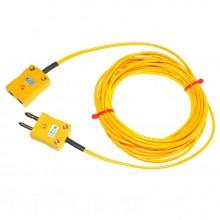 Typ K PVC Verlängerungskabel mit Stecker und Buchse (ANSI)