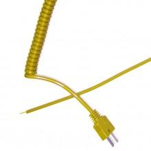 Typ K versenkbare lockiges Thermoelement Blei (ANSI)