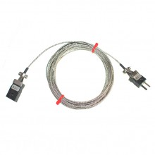 Verlängerungskabel Typ J Glasfaser Thermoelement mit Miniatur-Stecker & Buchsen (IEC)
