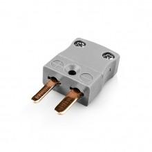 Miniatur Thermoelement Steckverbinder Stecker AM-B-M Typ B ANSI