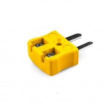 Miniatur schnelle Thermoelement Steckverbinder Stecker JM-J-MQ Drahttyp J JIS