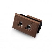 Miniatur rechteckige Faszie Thermoelement Steckverbinder JM-T-FF Sockeltyp T JIS