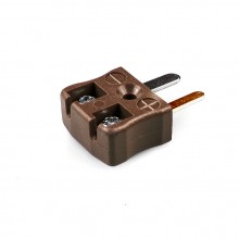 Miniatur schnelle Thermoelement Steckverbinder Stecker JM-T-MQ Drahttyp T JIS