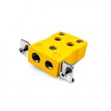 Standard-Quick-Wire paneelverbinder Mount Thermoelement mit Edelstahl Halterung JS-J-SSPFQ Typ J JIS