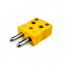 Standard schnell Thermoelement Steckverbinder Stecker JS-J-MQ Drahttyp J JIS