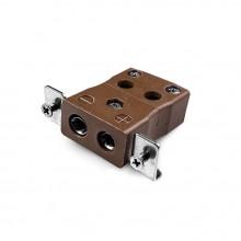 Standard-Quick-Wire paneelverbinder Mount Thermoelement mit Edelstahl Halterung JS-T-SSPFQ Typ T JIS